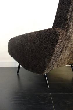 """Paire de fauteuils """"Troïka"""" de Pierre Guariche pour Airborne année 50"""
