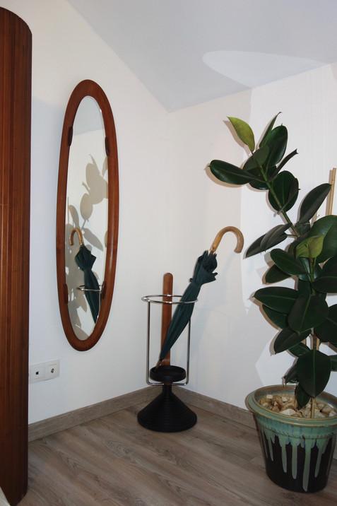 Miroir en teck Campo & Graffi