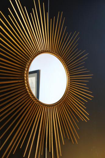 Grand miroir soleil Chaty Vallauris anné