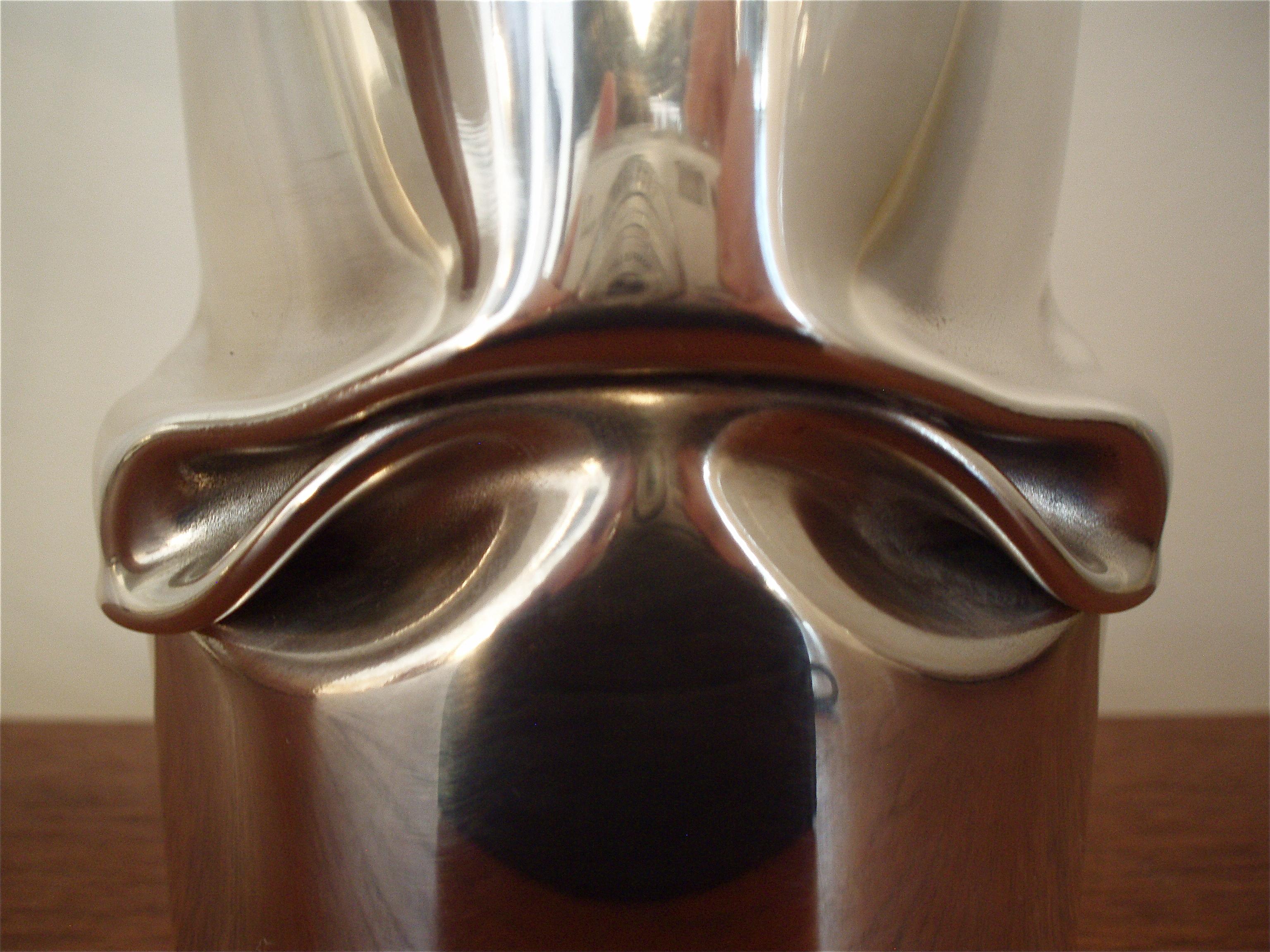Vase Christofle métal argenté année 60 70
