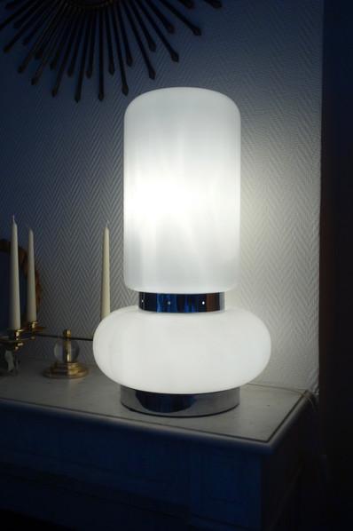 Lampe en verre de Murano des années 1970