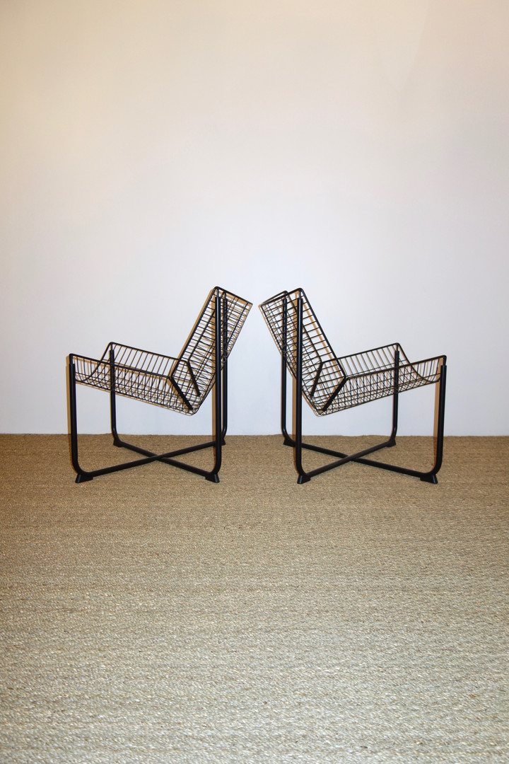 Paire de fauteuils Jarpen de Niels Gammelgaard pour Ikea année 80