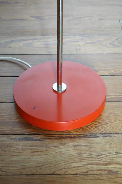 Lampadaire Fischer Leuchten rouge des an