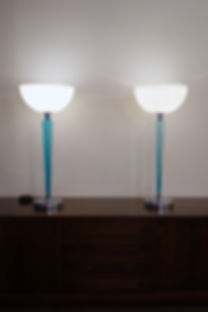 Paires de lampes Coppa de Jeannot Cerutt