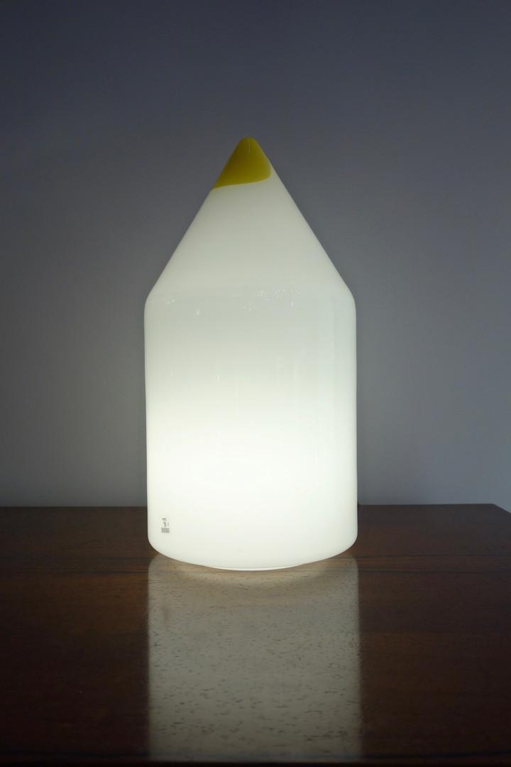 Lampe crayon Murano