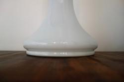 Lampe verre soufflé opalin Murano de Carlo Nason Pour Mazzega, fabrication Italienne dans les années