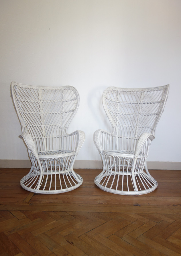 Paire de fauteuils de Gio Ponti & Lio Carminati pour Bonacina