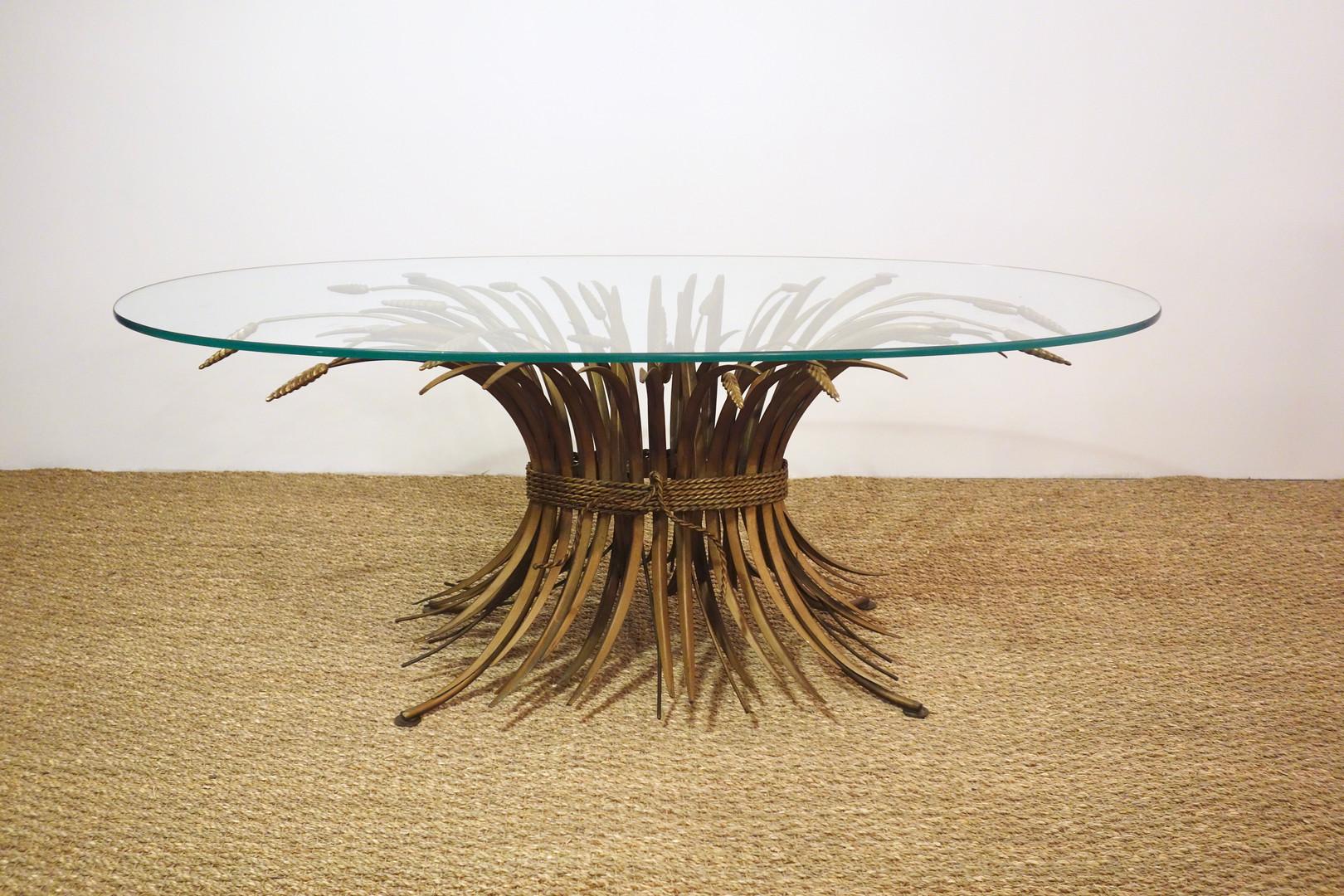 Table basse gerbe de blé Coco Chanel Goossens