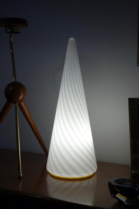 Lampe Murano spirale