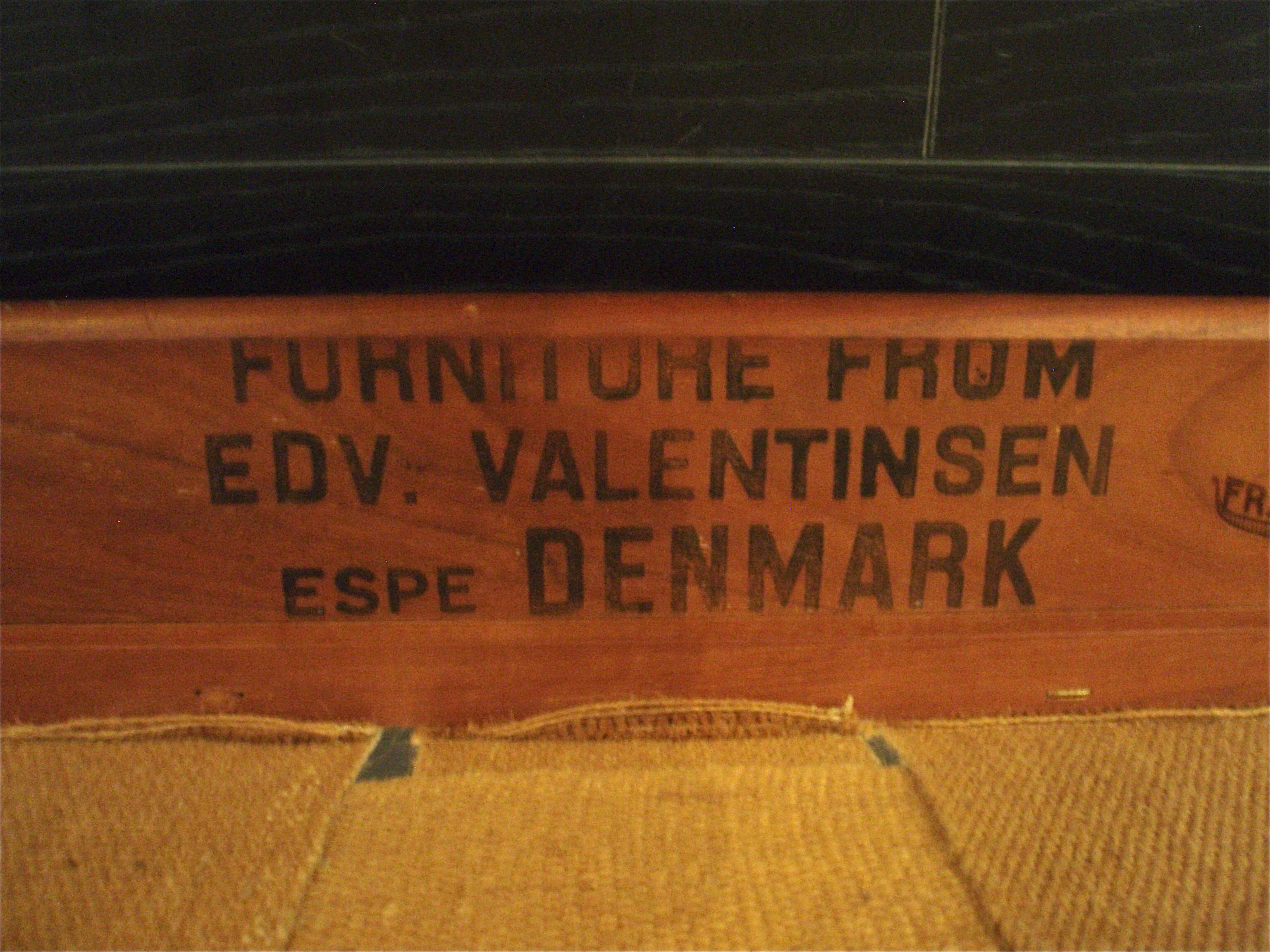 Fauteuils EDVARD VALENTINSEN