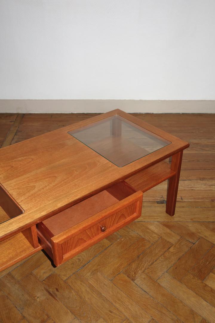 Table basse Gplan des années 1970