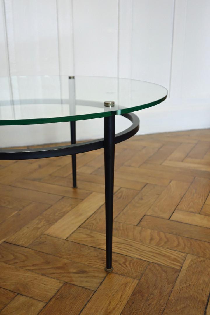 Table basse de Roger Le Bihan des années