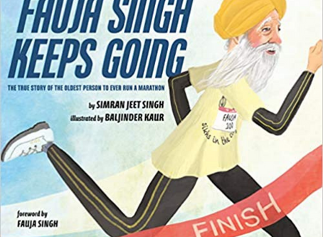 Fauja Singh Keeps Going.