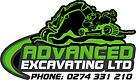 Advanced Excavating Logo