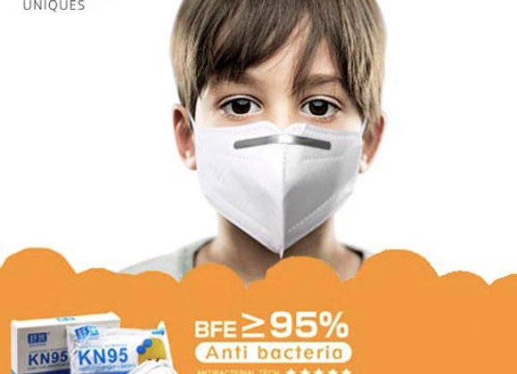 Mascarillas KN95 Niño. Pack 10 Unidades.