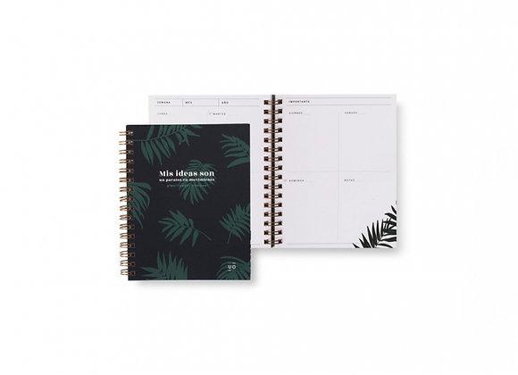 "Planificador Semanal Pocket ""Tropical"" UO"