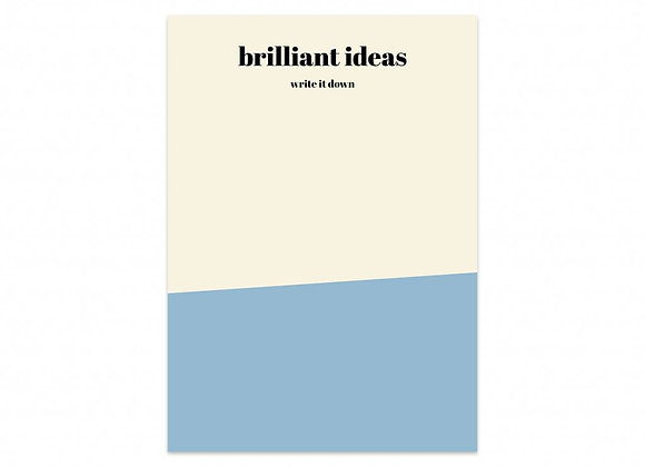 Notas Brilliant Ideas