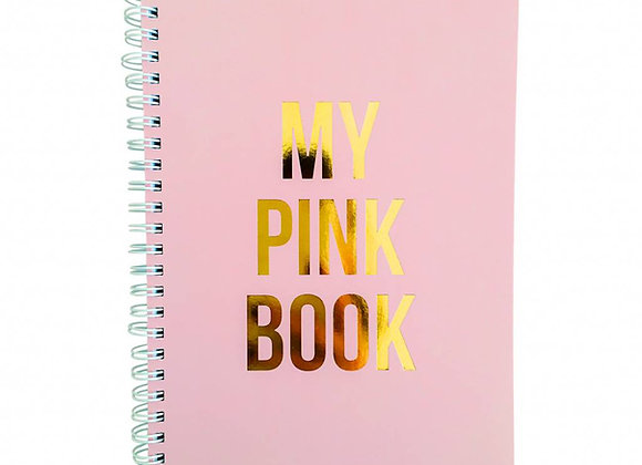 Cuaderno My Pink Book
