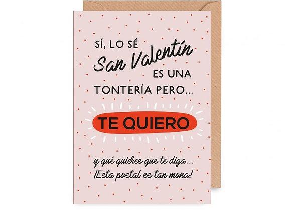 Postal Te Quiero UO