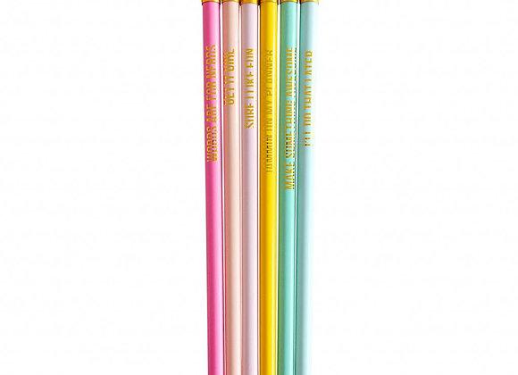 Set lápices Super awesome
