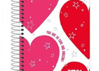 Agenda 2021 Love Pink