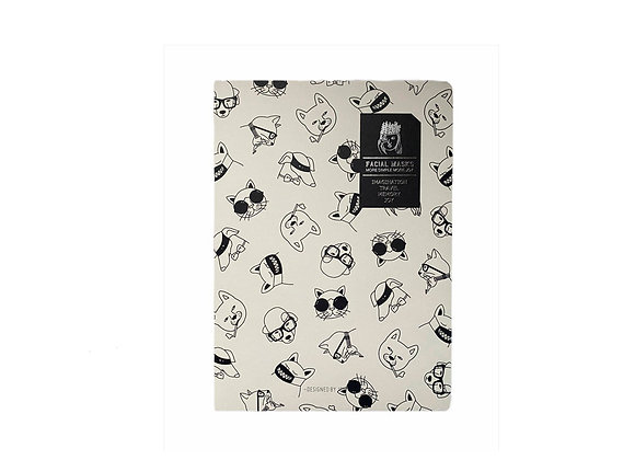 Cuaderno Mask Blanco