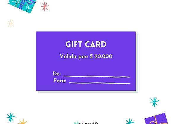 Gift Card $20.000