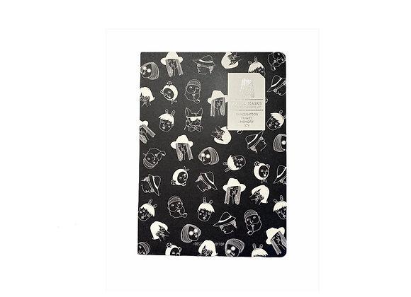 Cuaderno Mask Negro