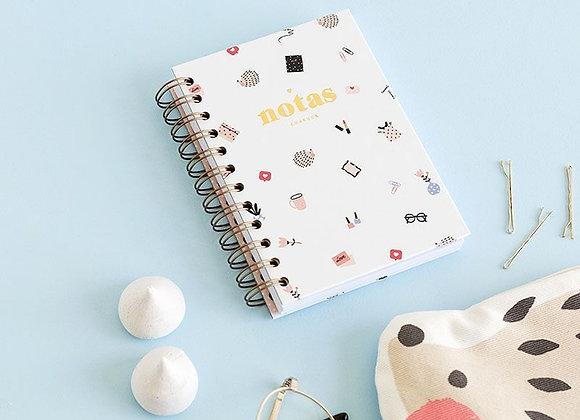 Cuaderno Mini CharucaLovers. Puntos