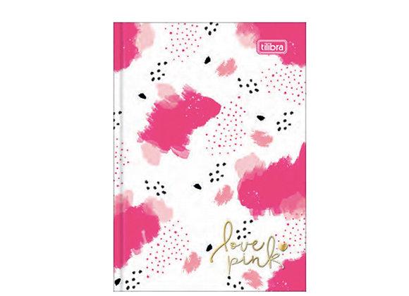 Cuaderno Empastado Love Pink Tilibra