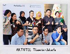 artotel thamrin jakarta - artotel for hope
