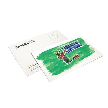 postcard - artotel for hope
