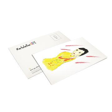 postcard -artotel for hope