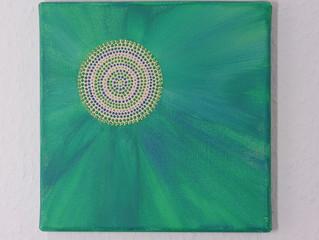 Mandala goes green...