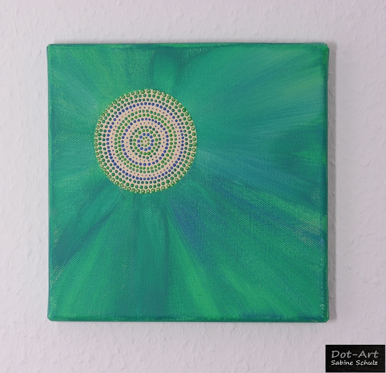 Mandala goes green...