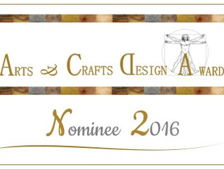 Arts & Crafts Design Award 2016