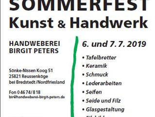 """Sommerfest """"Kunst und Handwerk"""""""