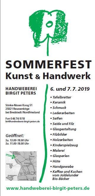 Sommerfest Kunst & Handwerk