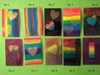 "Taschenkunst-Edition ""rainbow colours"""