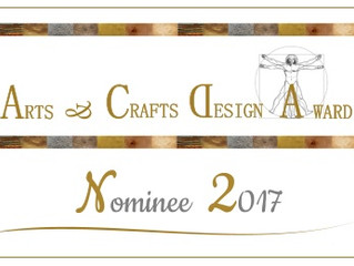 Arts & Crafts Design Award 2017