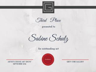 "Grey Cube Gallery, Art Exhibition ""Artist´s Choice"""