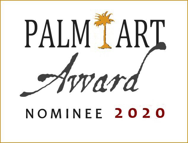 Ich freue mich sehr über die wiederholte Nominierung zum Palm Art Award.