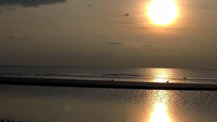 """""""Die Nordlichter"""" am Strand von St. Peter-Ording"""