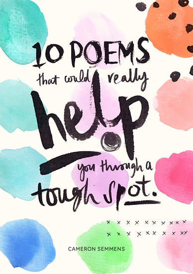 10 Poems that could really help you through a tough spot
