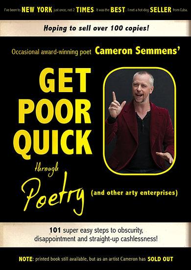 GET POOR QUICK through Poetry