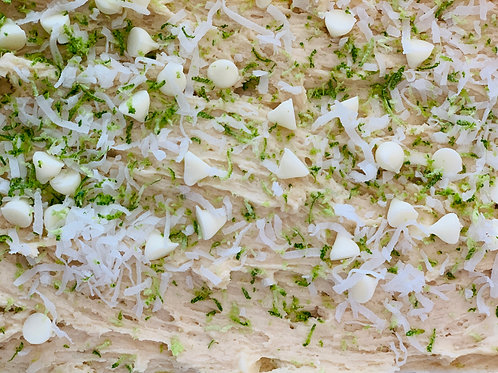 Coconut Lime White Chocolate