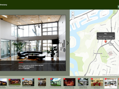 Community Venue Hire Directory Story Map