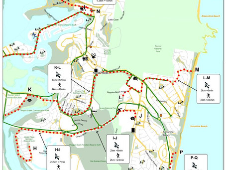 Walking and Cycling Route Maps