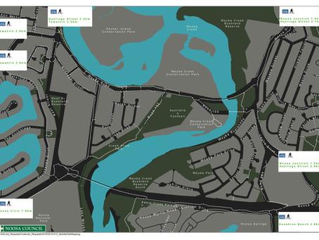 Weyba Creek Path Mapping