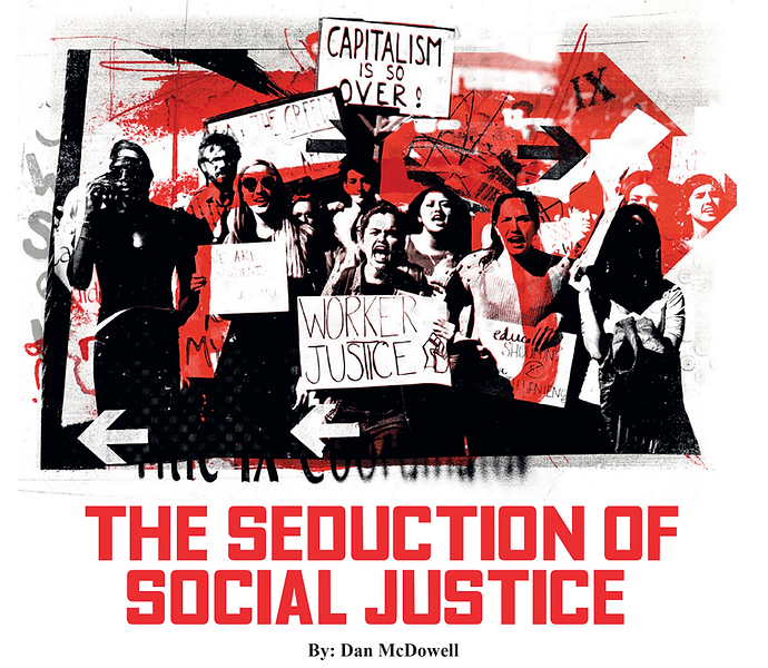 Seduction of Social Justice cover image.